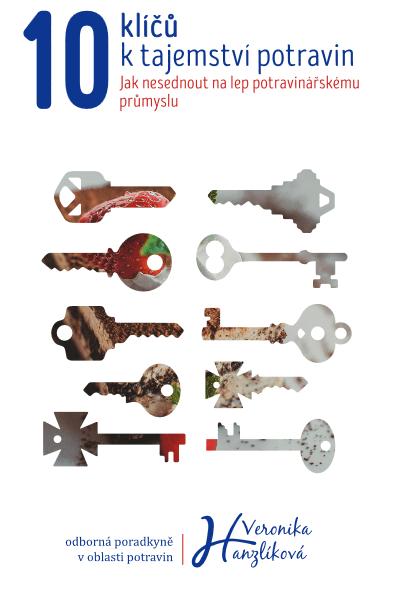 Obálka e-booku 10 klíčů ktajemství potravin Veronika Hanzlíková