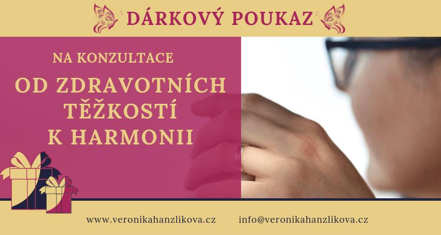Veronika Hanzlíková - konzultace nebo koučink Od zdravotních těžkostí k harmonii