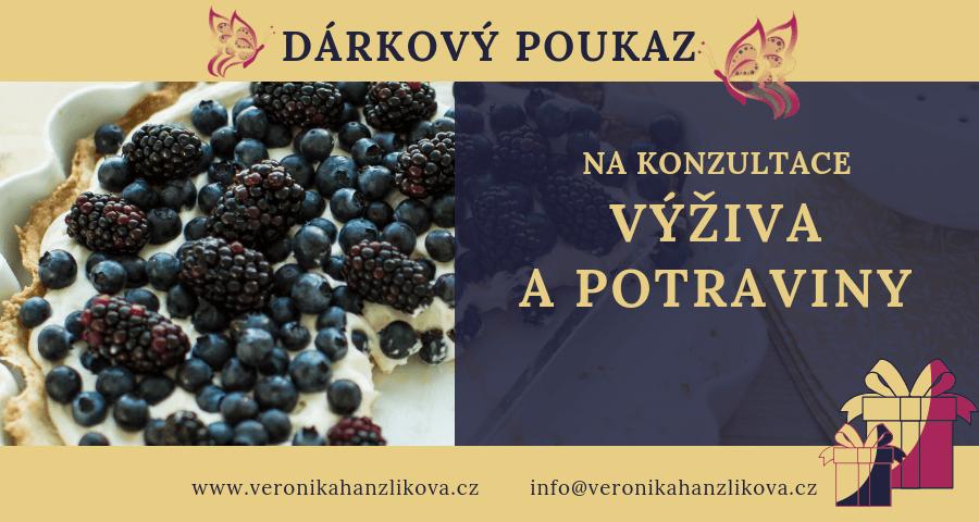 Veronika Hanzlíková - konzultace nebo koučink Výživa a potraviny