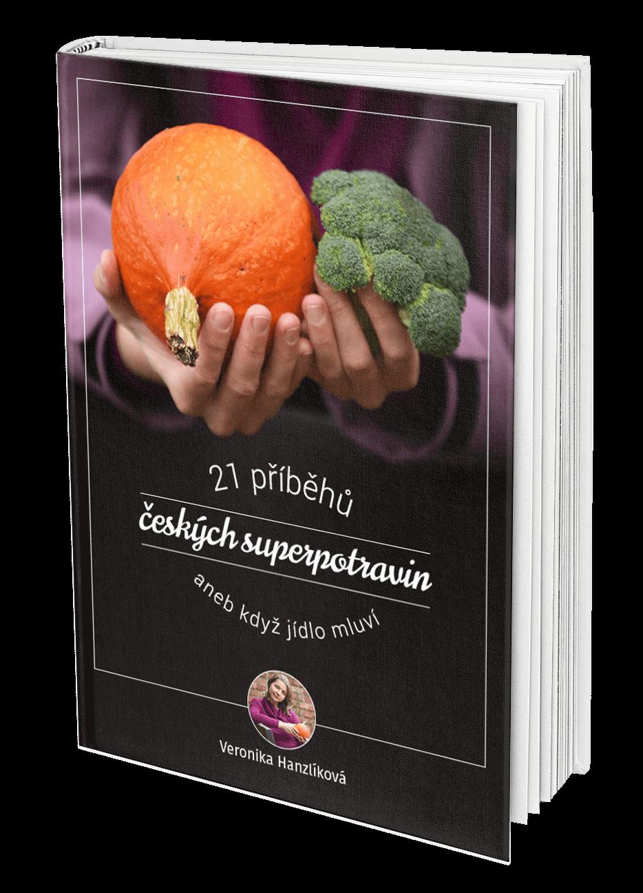 E-kniha Veroniky Hanzlíkové o českých superpotravinách